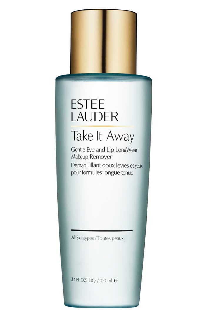 Makeup Removal Important Skin Care Routine: Estée Lauder Take It Away LongWear Makeup Remover