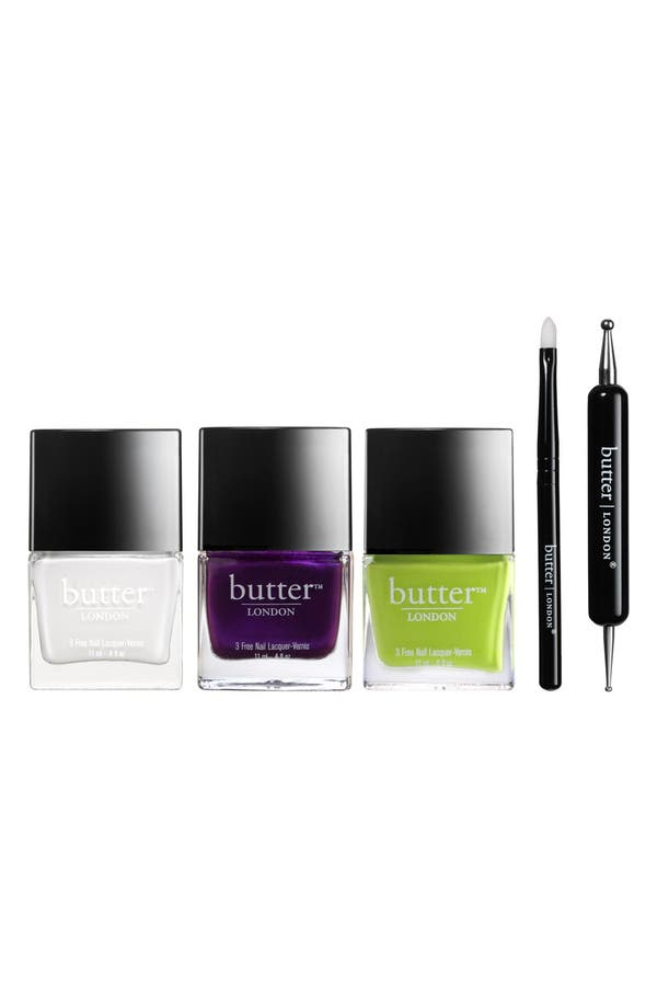 Main Image - butter LONDON 'Animal Instinct' Nail Lacquer Set (Limited Edition)