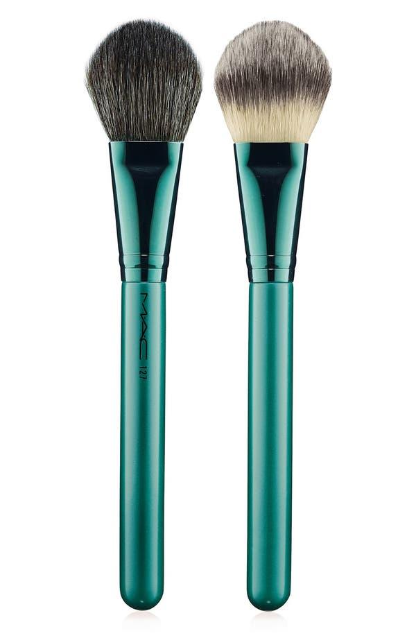 Main Image - M·A·C 'Alluring Aquatic' 127 Split Fiber Face Brush (Limited Edition)