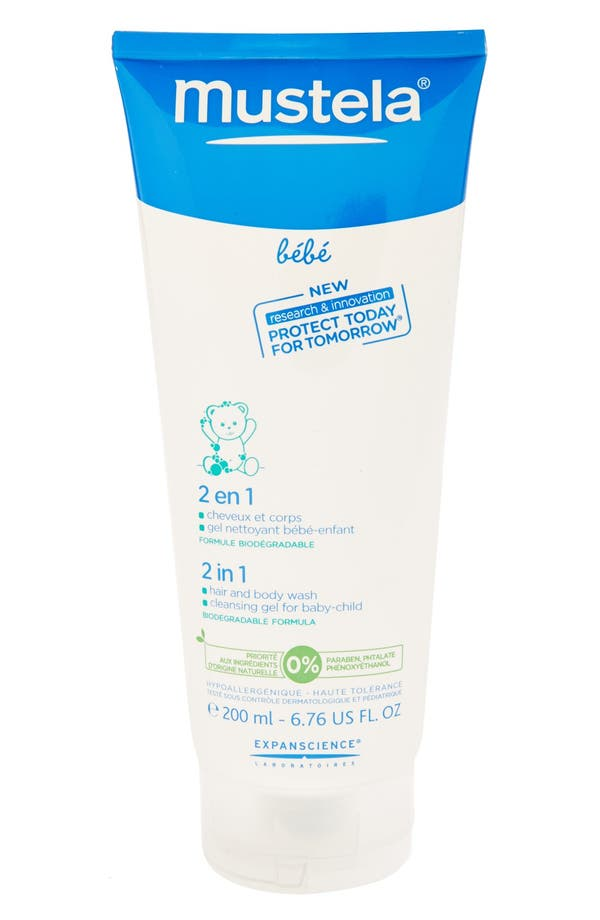 Main Image - Mustela® 2-in-1 Hair and Body Wash