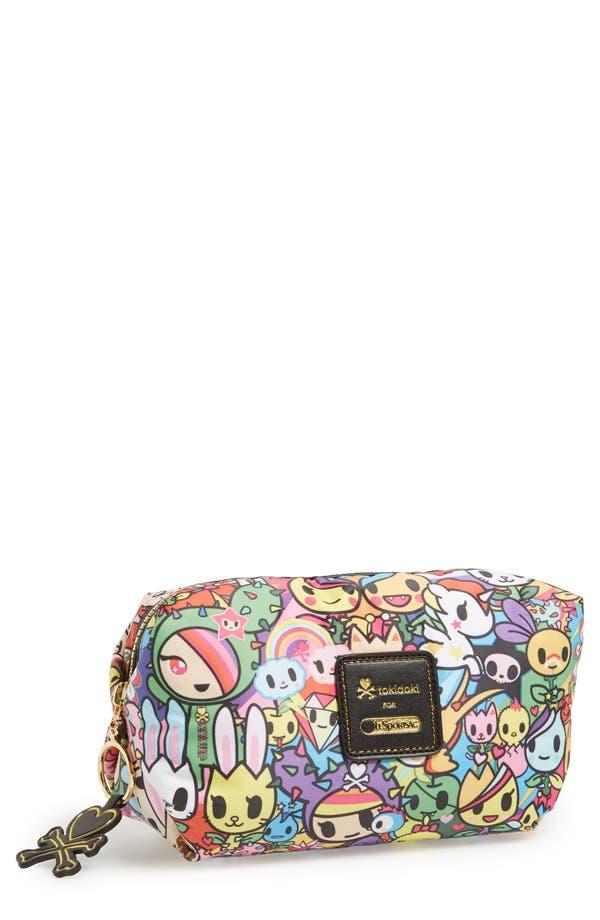 Alternate Image 1 Selected - tokidoki x LeSportsac 'Sorbetto' Nylon Cosmetics Case