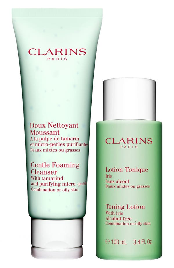 Alternate Image 1 Selected - Clarins Cleansing Duo for Combination/Oily Skin (Limited Edition)