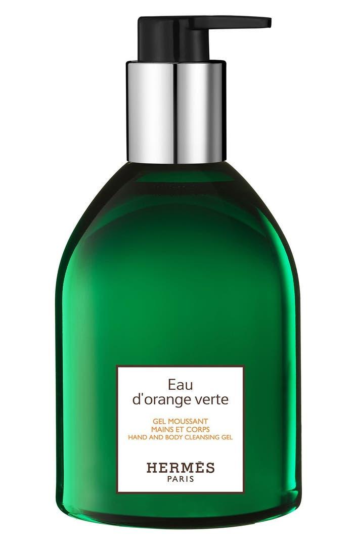 herm s eau d 39 orange verte hand and body cleansing gel nordstrom. Black Bedroom Furniture Sets. Home Design Ideas