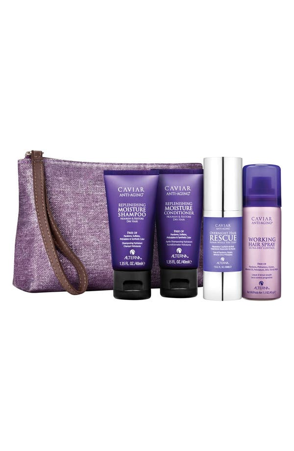 Alternate Image 1 Selected - ALTERNA® Caviar Moisture Transformation Kit