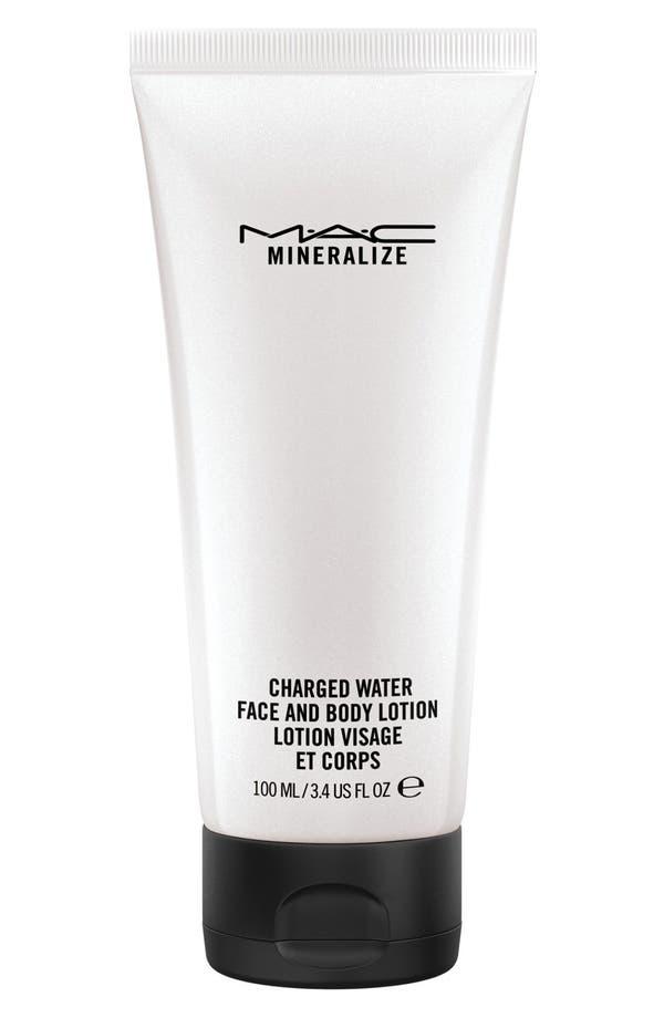 Main Image - MAC 'Mineralize' Charged Water Face & Body Lotion