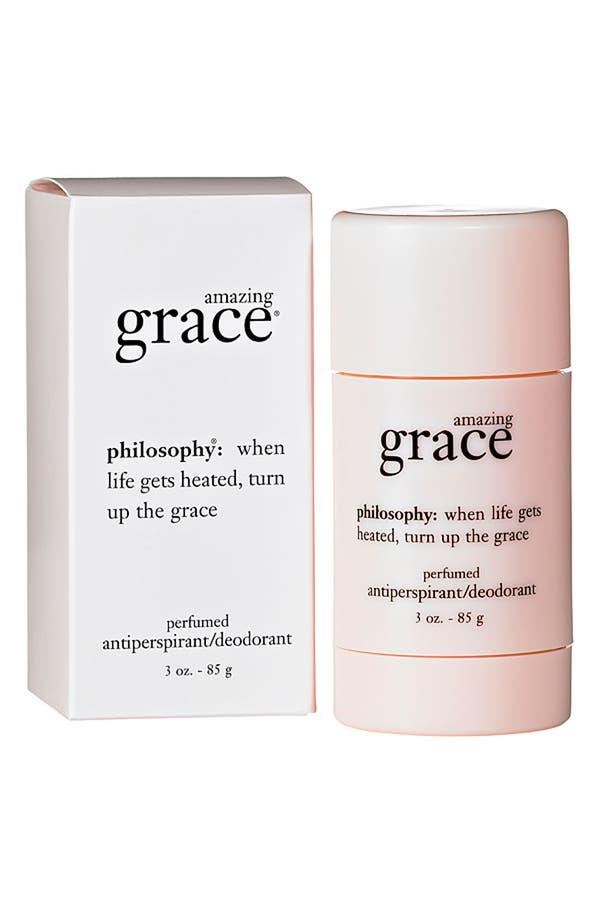 Main Image - philosophy 'amazing grace' perfumed antiperspirant/deodorant (Nordstrom Exclusive) ($18 Value)