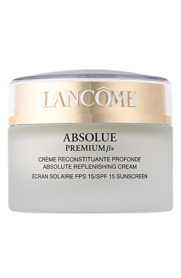 Alternate Image 1 Selected - Lancôme Absolue Premium Bx SPF 15 Moisturizer Cream