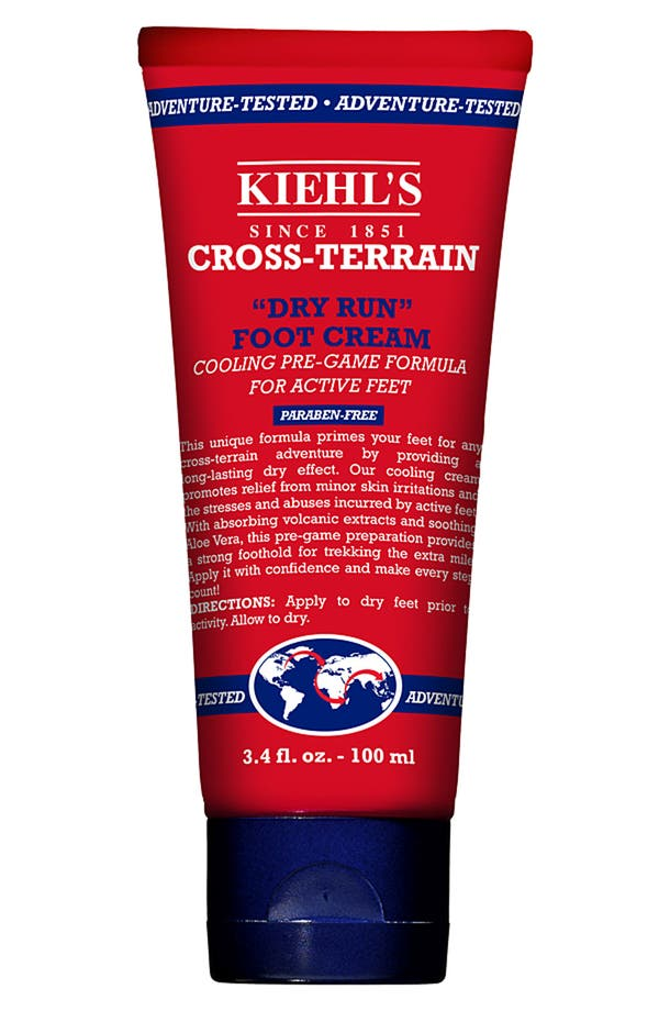 Main Image - Kiehl's Since 1851 'Cross-Terrain Dry Run' Foot Cream
