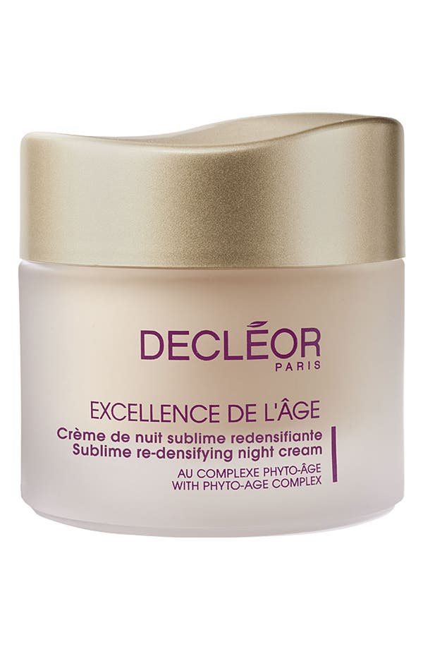 Alternate Image 1 Selected - Decléor 'Excellence de l'Âge' Sublime Re-Densifying Night Cream