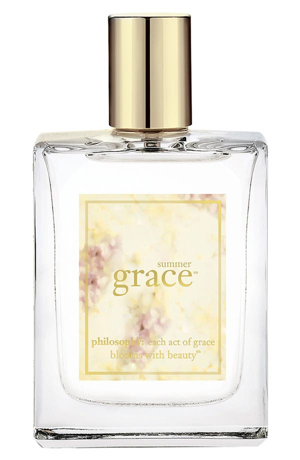 Alternate Image 1 Selected - philosophy 'summer grace' spray fragrance