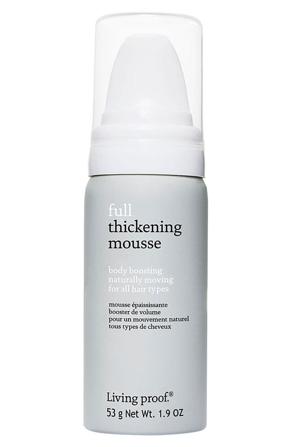 Alternate Image 2  - Living proof® 'Full' Body Boosting Thickening Mousse for All Hair Types