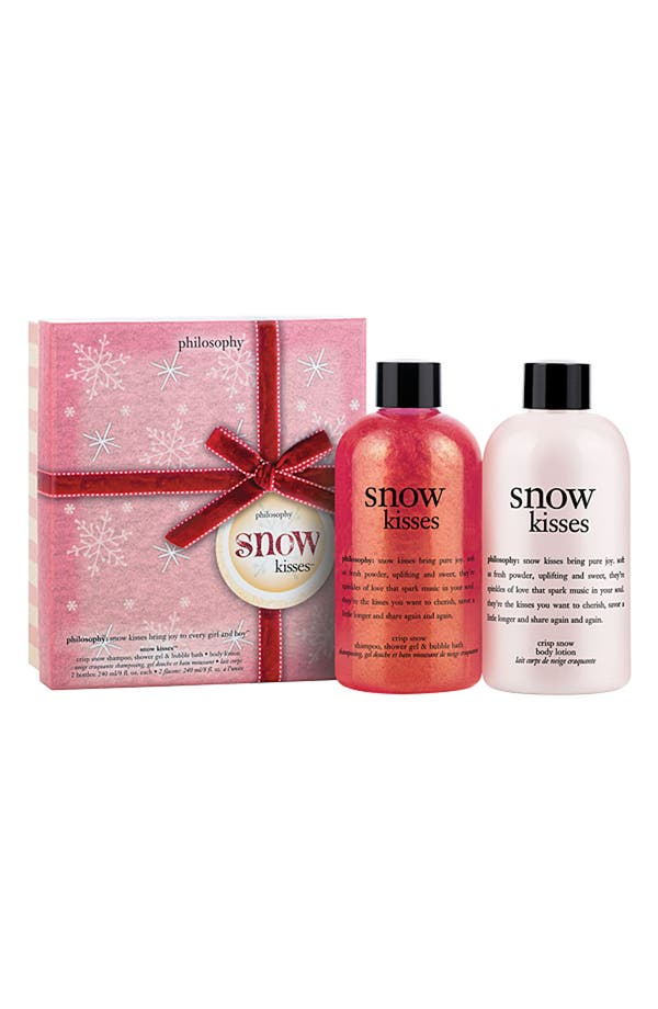 Alternate Image 1 Selected - philosophy 'snow kisses' duo (Nordstrom Exclusive)