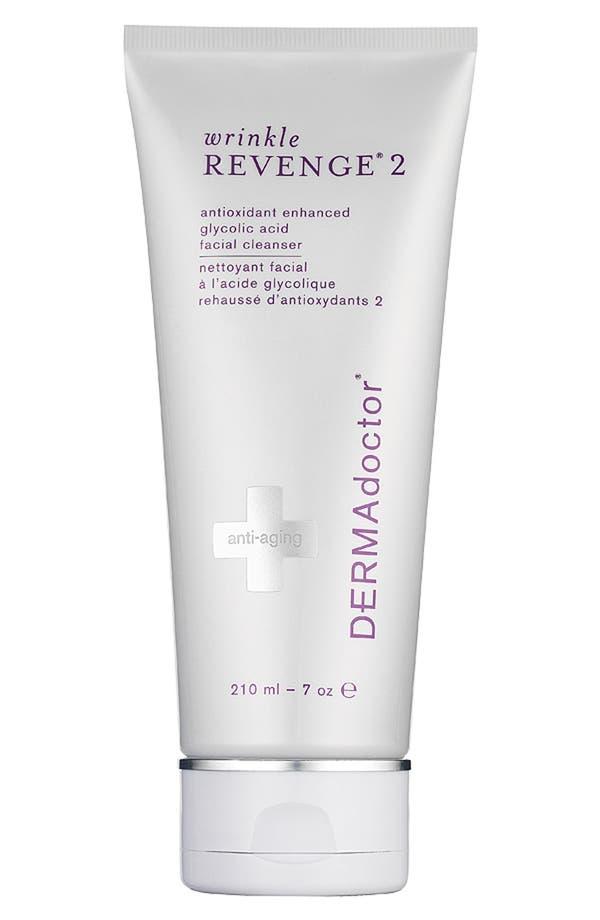 Main Image - DERMAdoctor® 'wrinkle REVENGE® 2' Antioxidant Enhanced Glycolic Acid Facial Cleanser