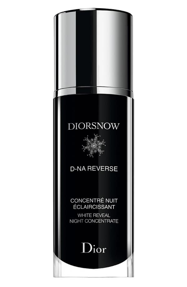 Alternate Image 1 Selected - Dior 'Diorsnow D-NA Reverse' White Reveal Night Concentrate