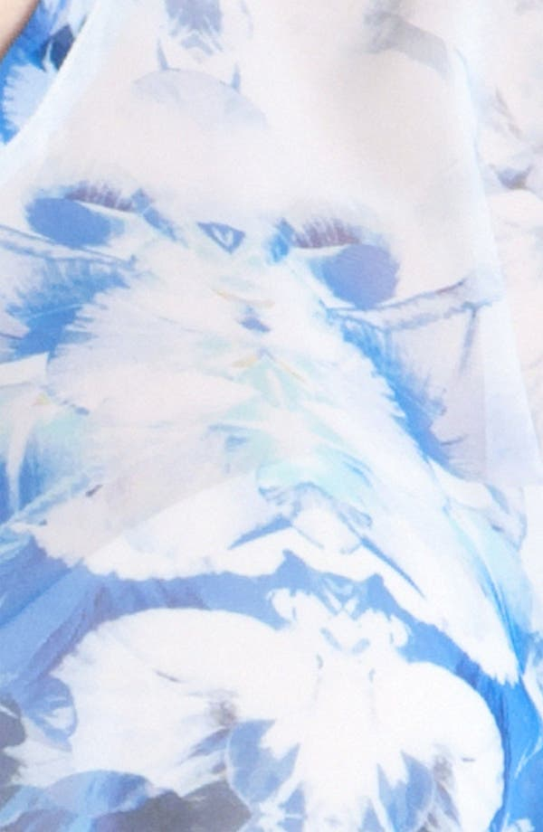 Alternate Image 3  - Nicole Miller 'Petal Ombré' Sheer Top