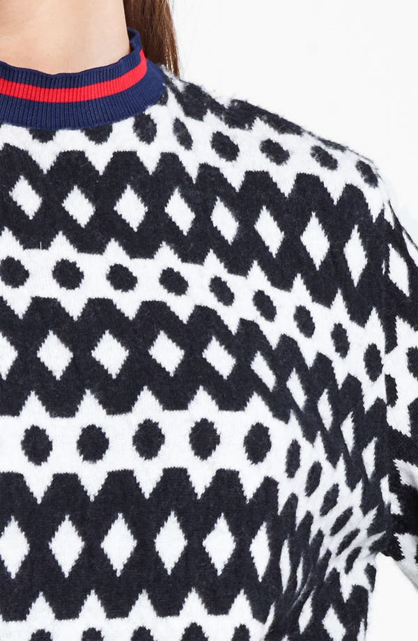 Alternate Image 3  - Marni Edition Diamond Stitch Sweater