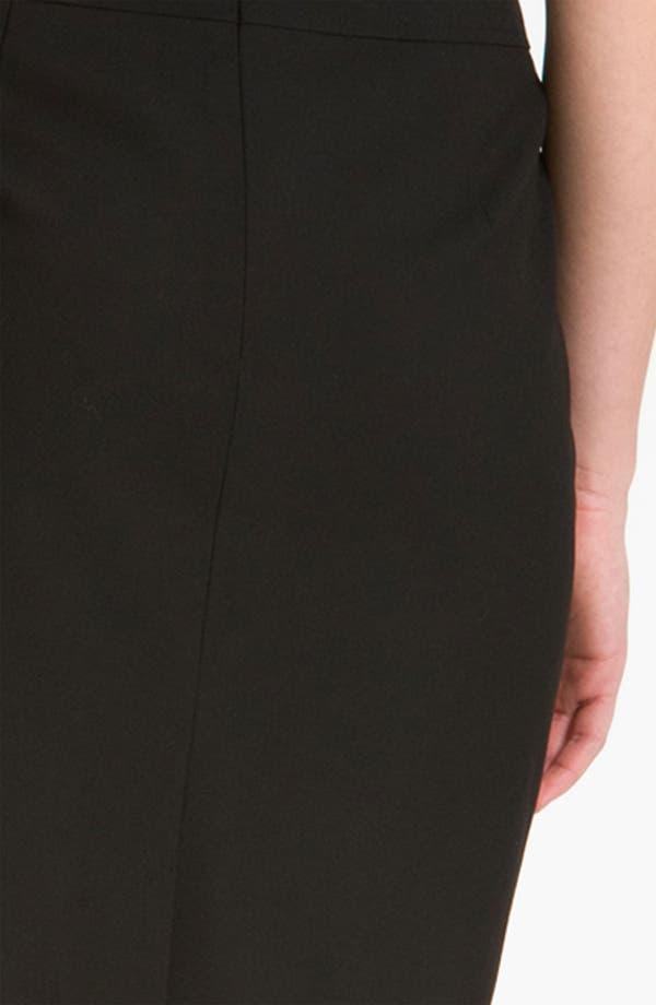 Alternate Image 3  - Halogen® Welt Pocket Skirt