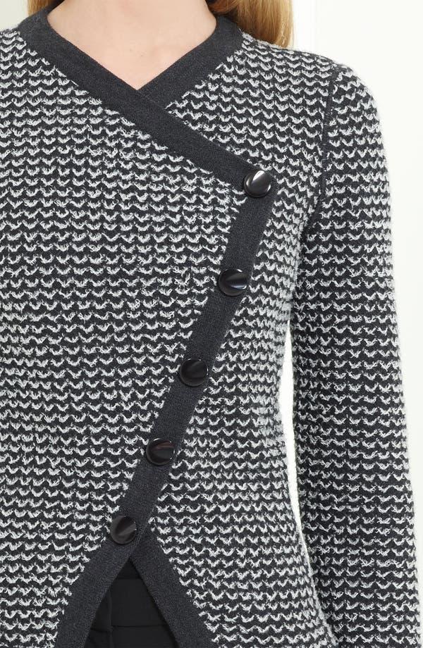 Alternate Image 2  - Armani Collezioni Zigzag Asymmetrical Sweater