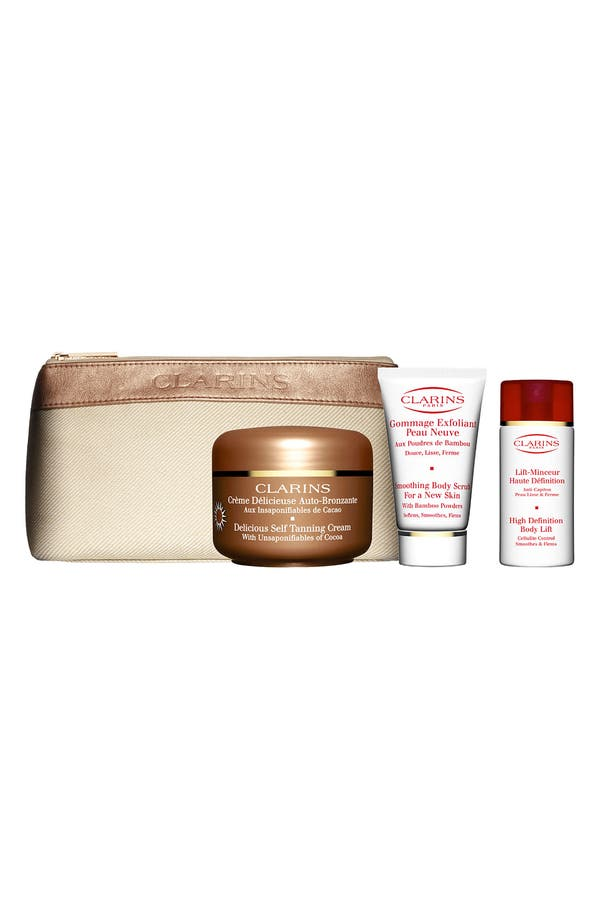 Alternate Image 1 Selected - Clarins Self Tanning Kit ($56 Value)