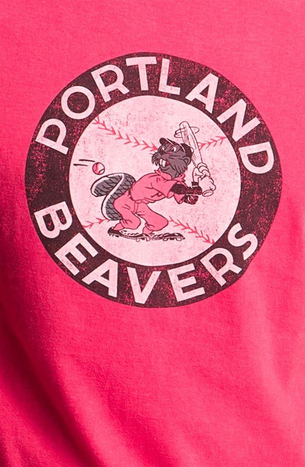 Alternate Image 3  - Red Jacket 'Portland Beavers - Brass Tack' T-Shirt