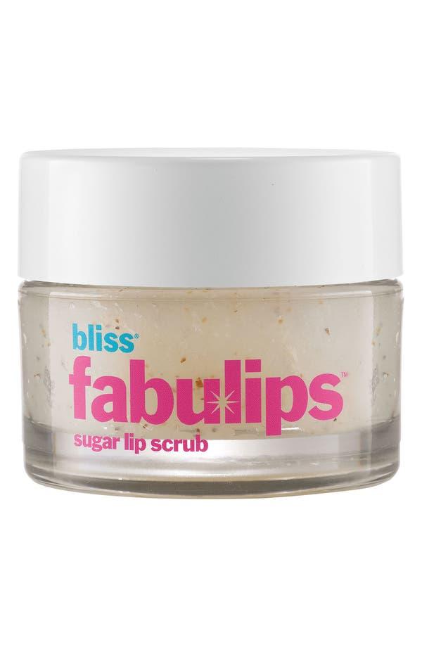 Alternate Image 1 Selected - bliss® 'fabulips' Sugar Lip Scrub