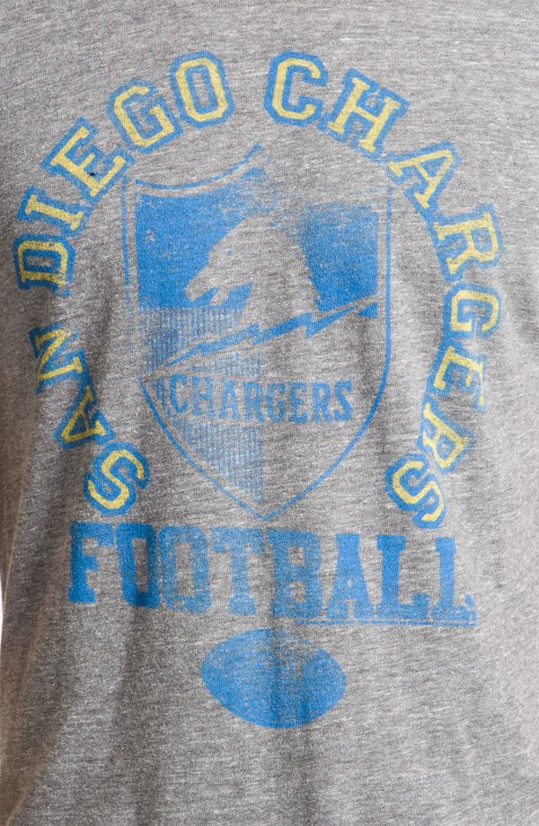 Alternate Image 3  - Junk Food 'San Diego Chargers' Graphic Crewneck T-Shirt