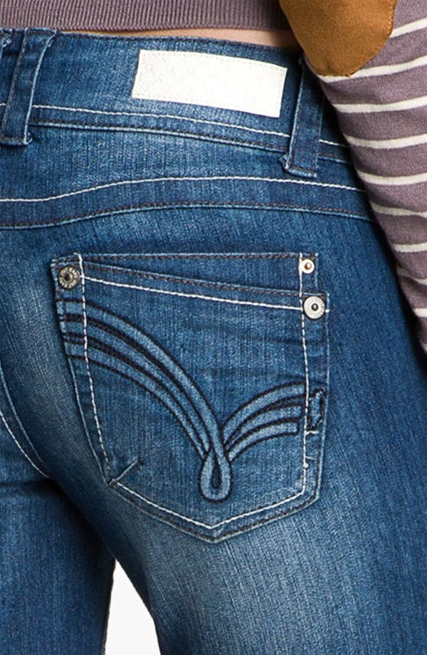 Alternate Image 3  - Jolt 'J' Pocket Skinny Jeans (Juniors)
