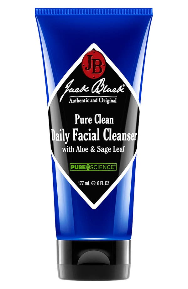 Alternate Image 1 Selected - Jack Black 'Pure Clean' Daily Facial Cleanser