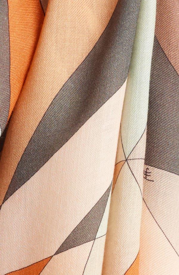 Alternate Image 2  - Emilio Pucci 'Fantasia' Wool Scarf