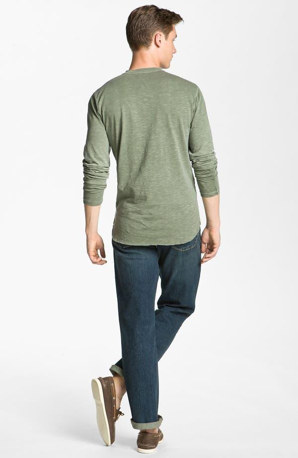 Alternate Image 5  - AG Jeans Slub Knit Henley