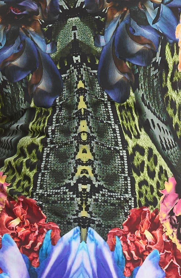 Alternate Image 3  - Roberto Cavalli Flower Print Jersey Top
