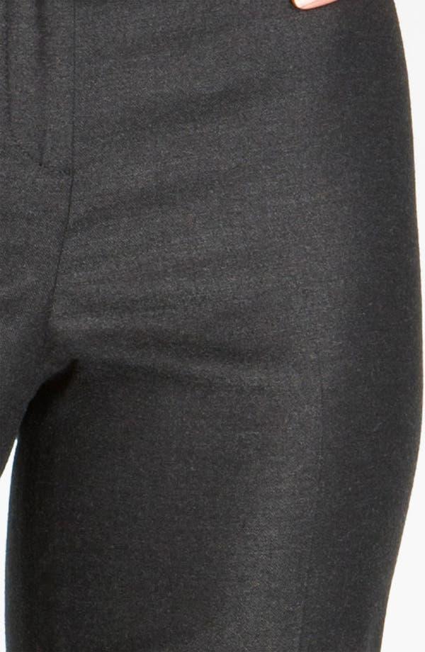 Alternate Image 4  - St. John Collection Straight Leg Stretch Flannel Pants