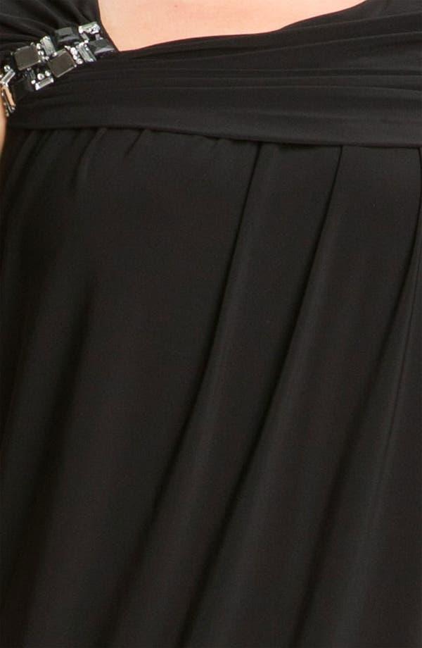 Alternate Image 3  - Alex & Eve Beaded Jersey Dress (Plus Size)