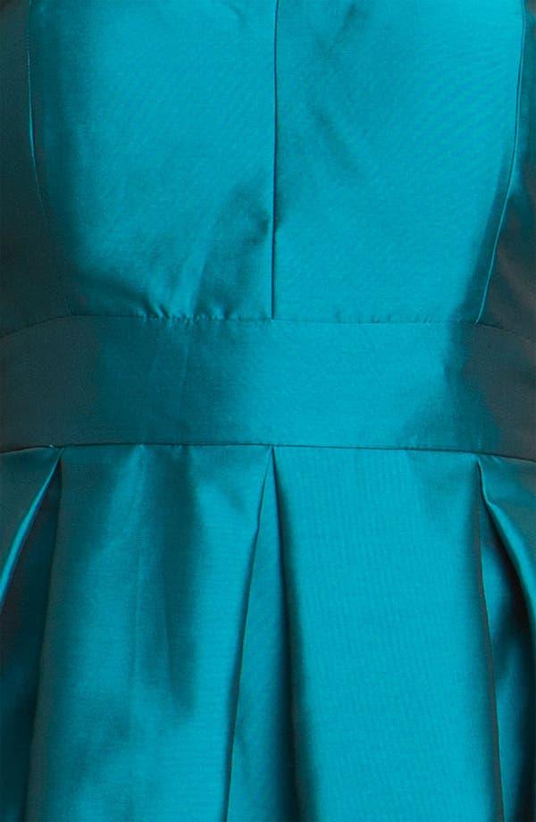 Alternate Image 4  - Eliza J Sweetheart Taffeta Dress