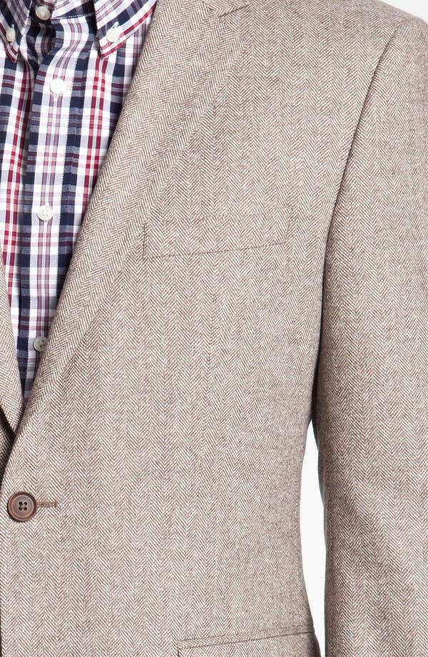 Alternate Image 3  - BOSS Black 'Smith' Trim Fit Herringbone Sportcoat