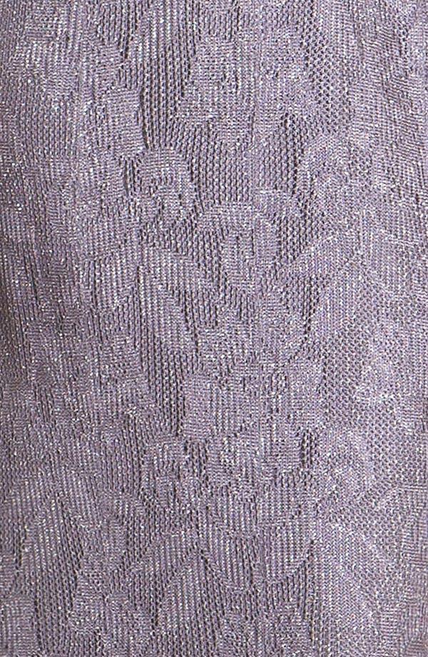 Alternate Image 4  - Damianou Metallic Knit Gown & Jacket
