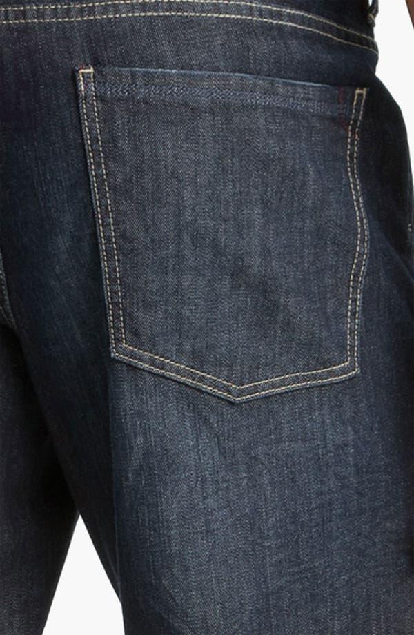 Alternate Image 4  - Tommy Bahama Denim 'Antonio' Authentic Straight Leg Jeans (Crinkle Dark)