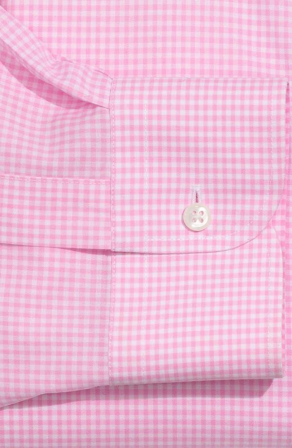 Alternate Image 2  - Nordstrom Men's Shop Smartcare™ Traditional Fit Gingham Dress Shirt