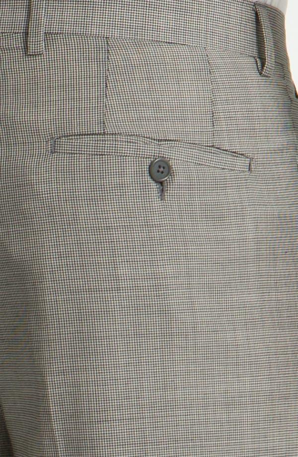 Alternate Image 3  - Santorelli Single Pleat Trousers