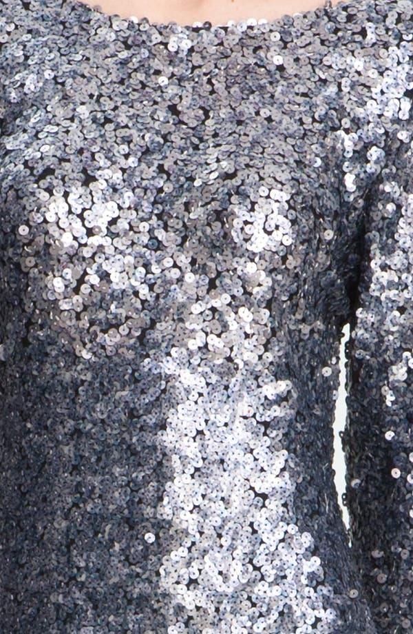 Alternate Image 3  - Alberto Makali Sequin Open Back Minidress