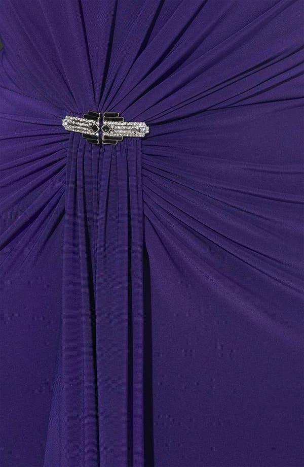 Alternate Image 3  - Lauren Ralph Lauren Low Back Jersey Gown
