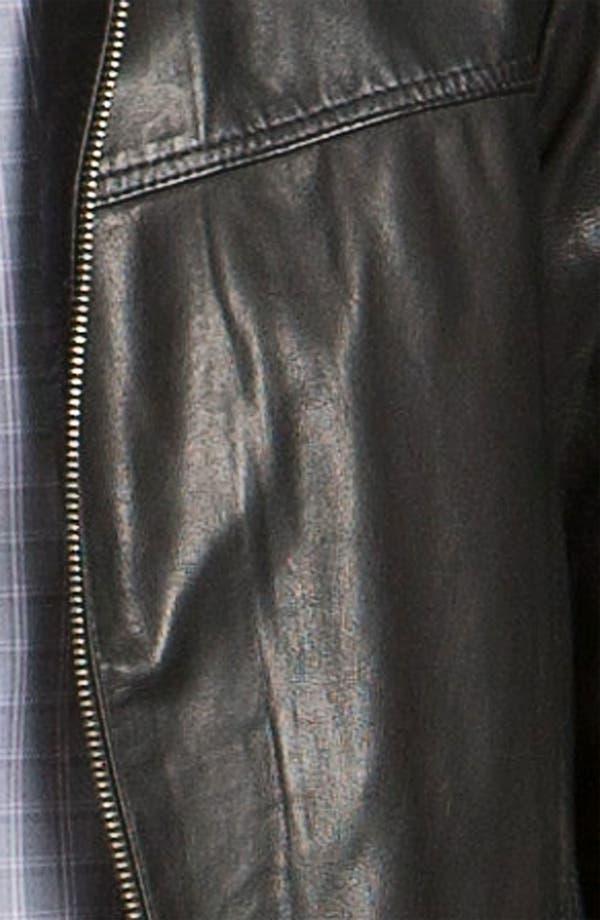 Alternate Image 3  - BOSS Black 'Adillon' Leather Jacket