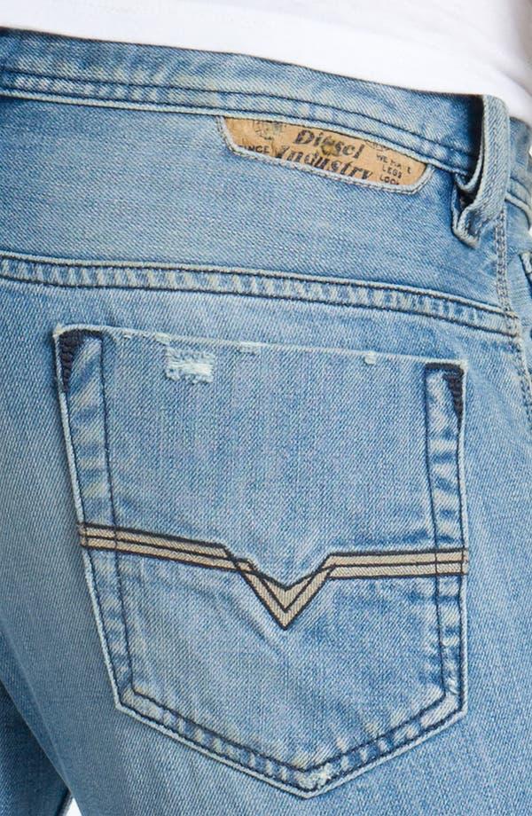 Alternate Image 4  - DIESEL® 'Safado' Straight Leg Jeans (0802I)