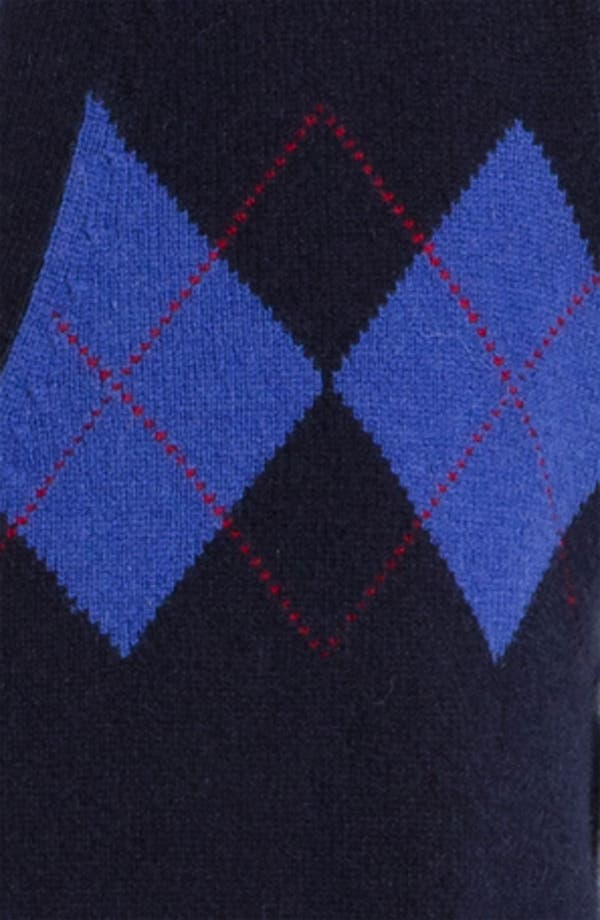 Alternate Image 3  - Brooks Brothers Lambswool Cardigan Vest