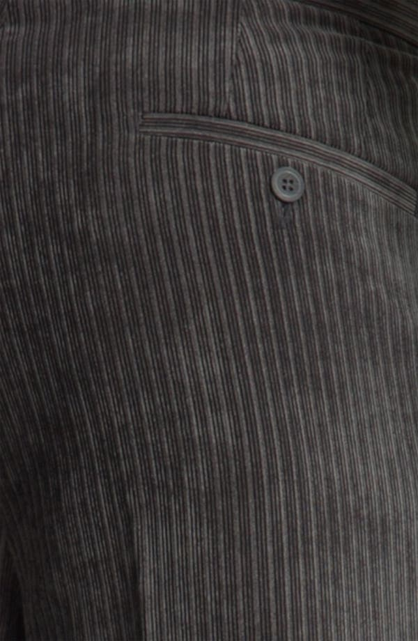 Alternate Image 3  - Linea Naturale 'Striped Micro-Aire' Corduroy Trousers