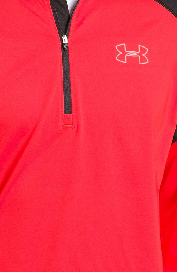 Alternate Image 2  - Under Armour 'Storm Run' Fitted Quarter Zip Pullover