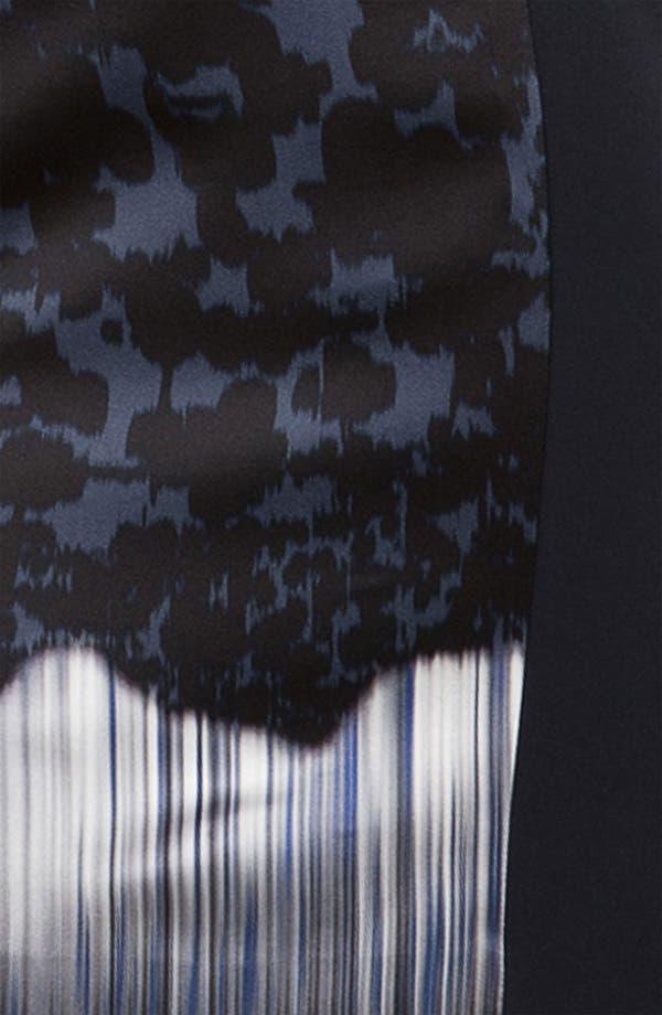 Alternate Image 3  - Elie Tahari 'Margie' Print Charmeuse Sheath Dress