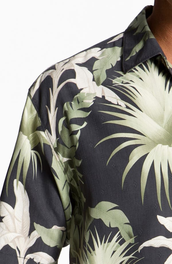 Alternate Image 3  - Tommy Bahama 'Major Palm' Silk Campshirt