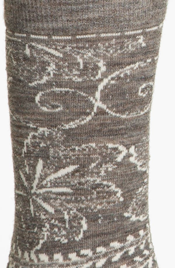Alternate Image 2  - Smartwool 'Floral Scroll' Socks