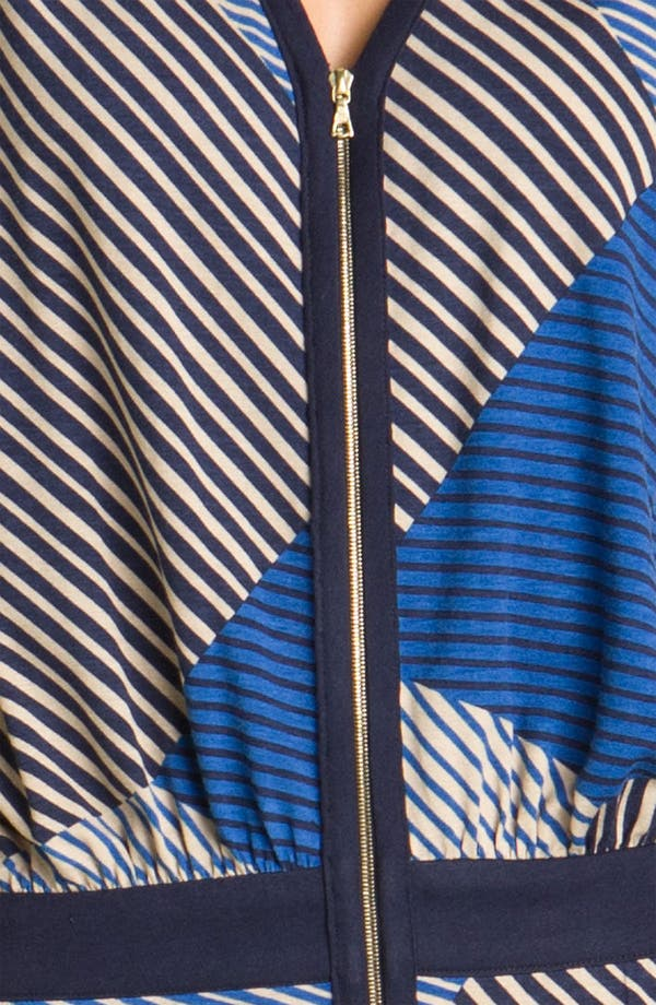 Alternate Image 3  - Julie Dillon Front Zip Drop Waist Dress